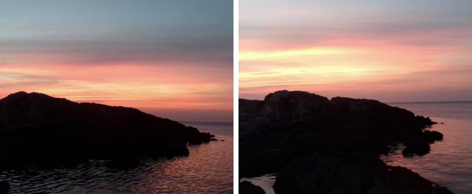tramonto isole tremiti